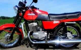 Мотоцикл Ява 12