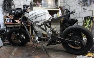 Переделка китайского Мотоцикла