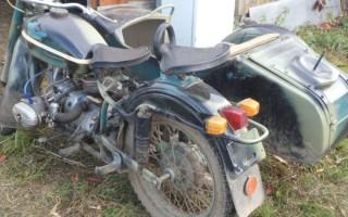 Мотоцикл Урал во владимирской области