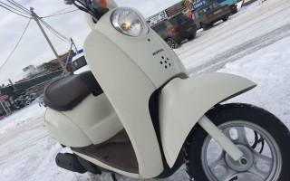 Honda 4т Скутер