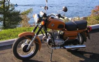 Мотоцикл восход скорость