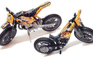 Лего техник кроссовый мотоцикл