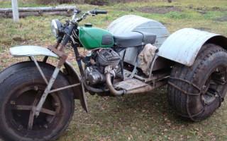 Снегоходы из Мотоцикла Минск