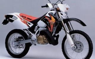 HONDA CRM250R, описание модели