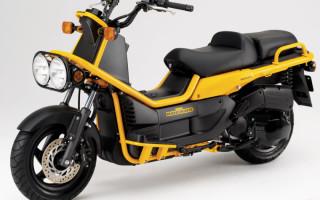 Скутеры Honda видео
