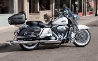 Harley Davidson road king характеристики