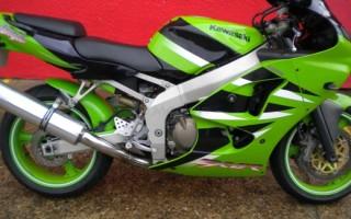Kawasaki Ninja zx 6r 2002