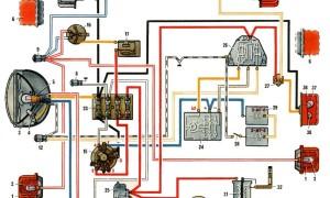 Схема электрооборудования Мотоцикла Урал 12 вольт