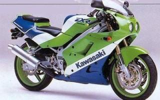 KAWASAKI ZXR250, описание модели