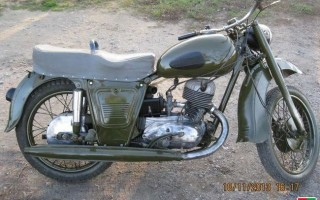 Мотоцикл Планета 1