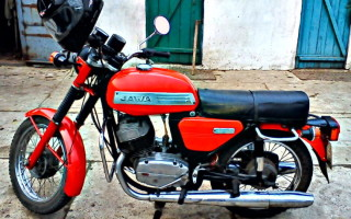 Мотоциклы Ява чезет новые