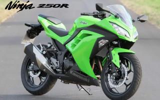Мотоцикл Кавасаки Ниндзя 300
