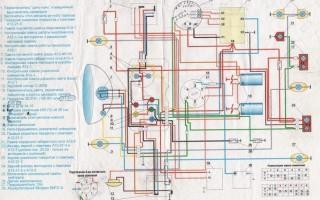 Схема электропроводки иж юпитер 4