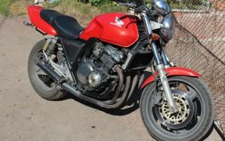 Honda CB 400 технические