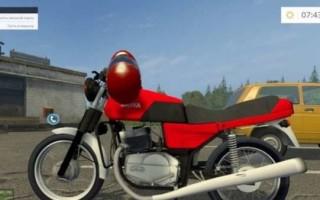 Мотоцикл Ява для farming simulator 2017