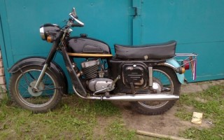 Мотоцикл иж 53