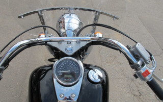 руль Honda Shadow