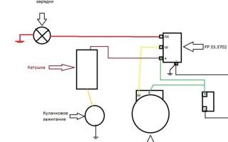 Схема зарядки Мотоцикла днепр