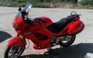 Мотоциклы honda deauville