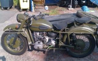 Мотоцикл днепр 1036