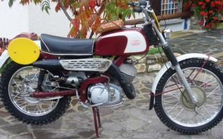 Мотоцикл Ява уфе