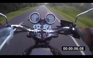 максимальная скорость на Honda CB 1000 sf