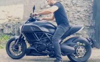 Мотоцикл амирана сардарова ducati