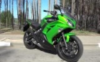 Kawasaki er 6 Ninja 650r обзор
