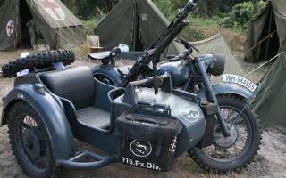 Немецкий Мотоцикл БМВ р 75