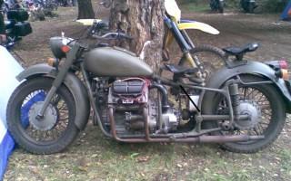 Мотоцикл Урал казань