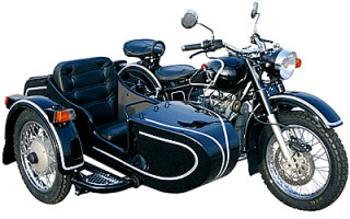 Чехол мотоцикл урал с коляской