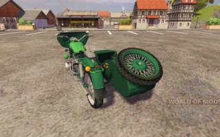 Мотоцикл Урал для farming simulator 2015