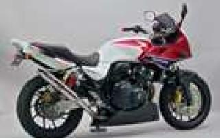Honda CB 400 размеры