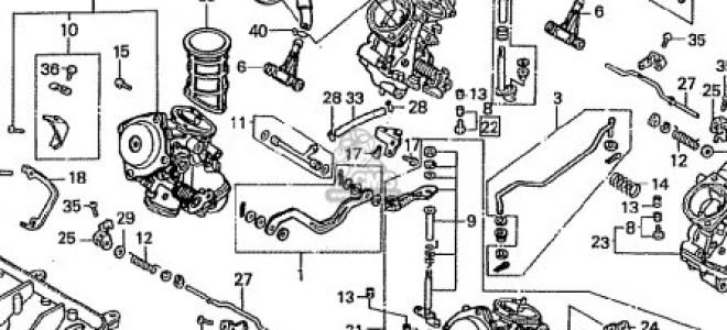 синхронизация карбюраторов Хонда VFR 400