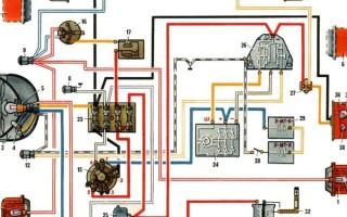 Схема проводки Мотоцикла Урал имз 8 103