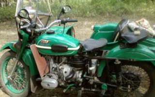 Мотоцикл Урал имз