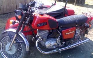 Мотоцикла Планета 5 бу