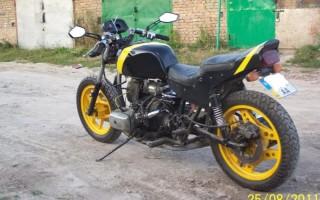 Тюнинг Мотоцикла мт днепр