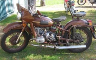 Мотоцикл бу Урал