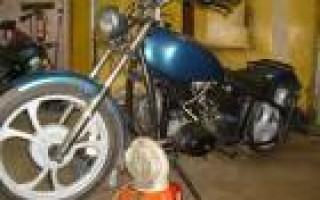Мотоцикл Урал бу в спб