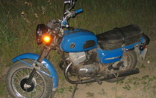 Мотоцикл восход зм