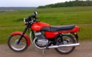 Мотоцикл Ява 350 6 вольт