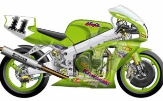 Спортивные мотоциклы kawasaki