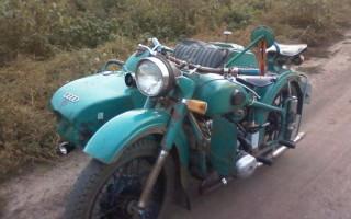 Мотоцикл Урал м 62