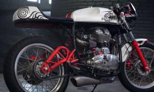 Раскраска спортивный мотоцикл