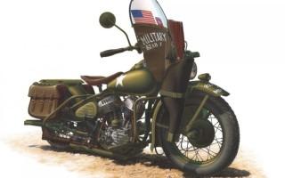 Сборная модель мотоцикла Harley Davidson