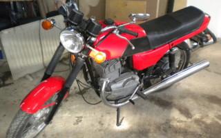 Сборка Мотоцикла Ява