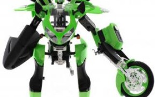 Робот трансформер Kawasaki Ninja zx 12r