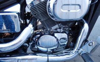 двигатель Honda Shadow