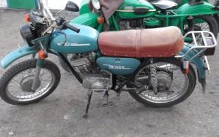 Мотоцикл Минск 1989